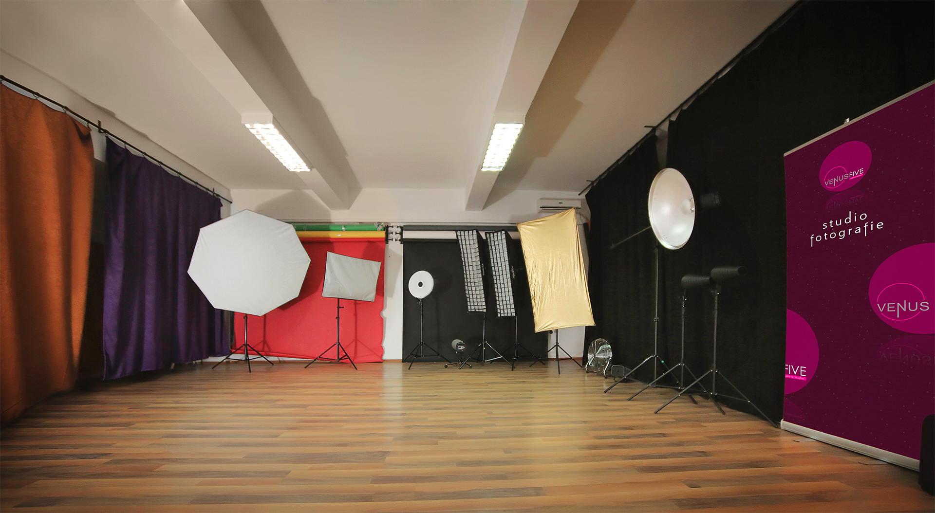 Studio foto in Bucuresti